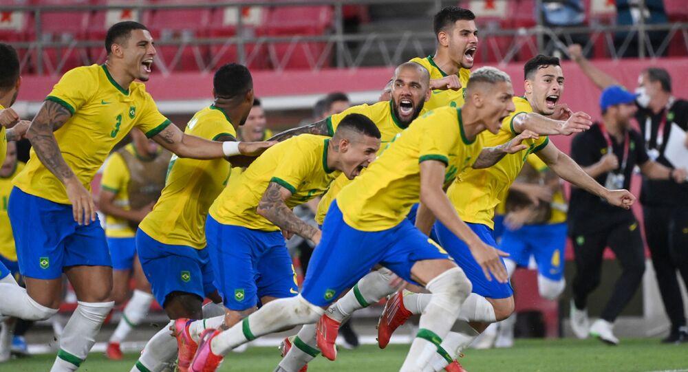 البرازيل تقصي المكسيك من الدور نصف النهائي من أولمبياد طوكيو