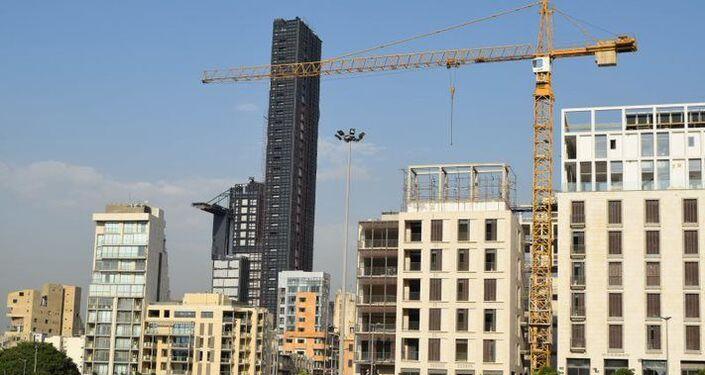 ترميم بنايات متضررة من انفجار مرفأ بيروت