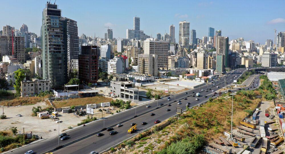مرفأ بيروت بعد عام من الانفجار، لبنان 2 أغسطس 2021