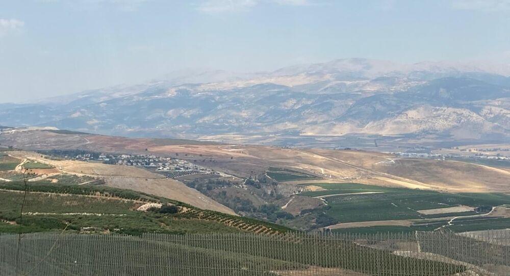 الحدود اللبنانية مع إسرائيل، جنوب لبنان 6 أغسطس 2021