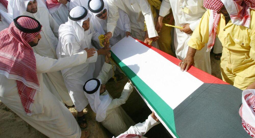 تشييع جنازة في الكويت