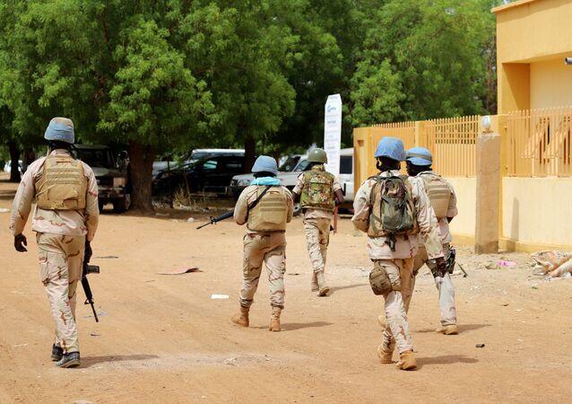 قوات حفظ السلام التابعة للأمم المتحدة في مالي
