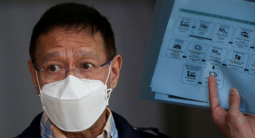 وزير الصحة الفلبيني، فرانشيسكو دوكي