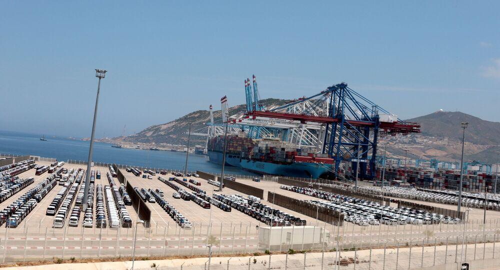 ميناء المغرب