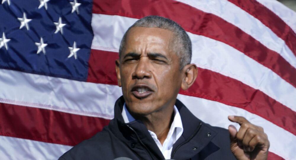 الرئيس الأمريكي الأسبق، باراك أوباما
