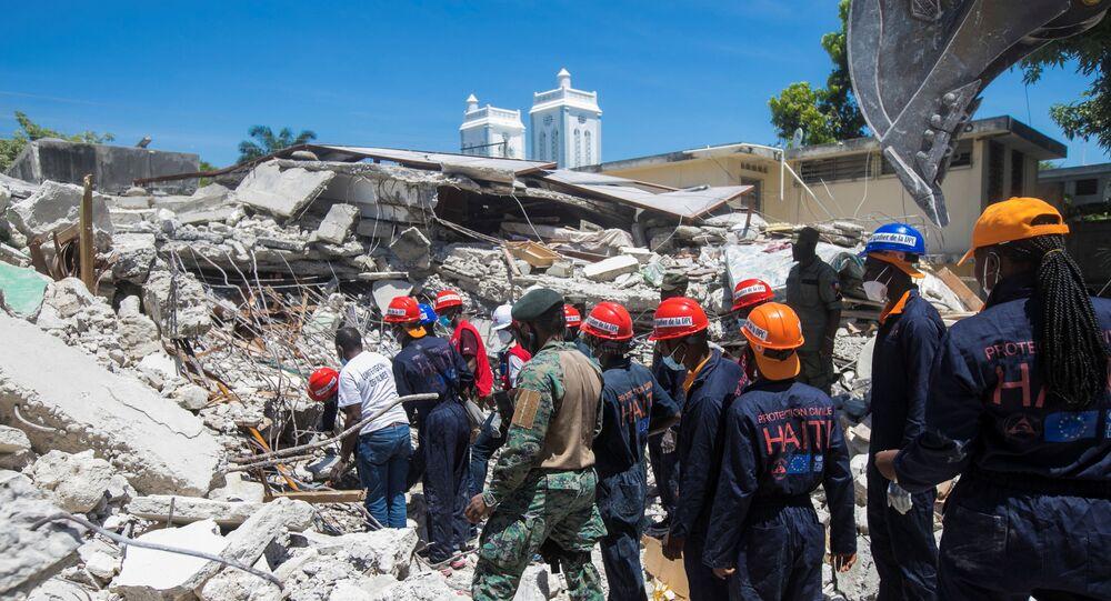 زلزال هايتي المدمر الذي راح ضحيته 1297 شخصا الأحد 15 أغسطس 2021