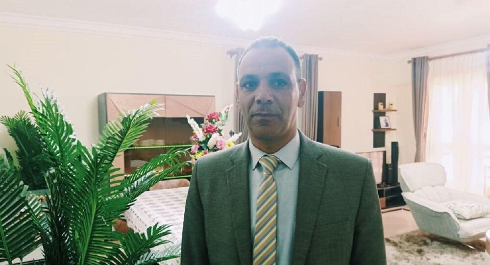 عمار مندور رئيس جهاز مدينة بدر