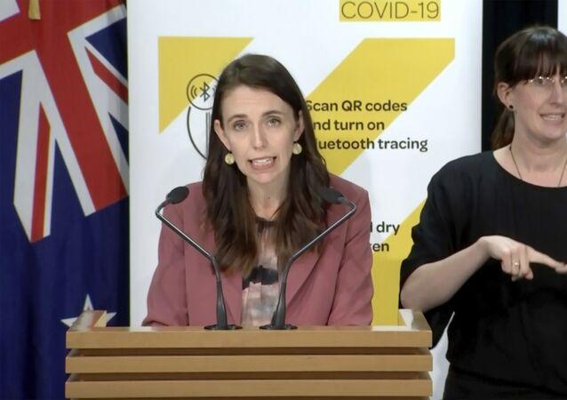 رئيس وزراء نيوزيلندا، جاسيندا أرديرن، تعلن عن عودة الإغلاق الشامل، 17 أغسطس/ آب 2021