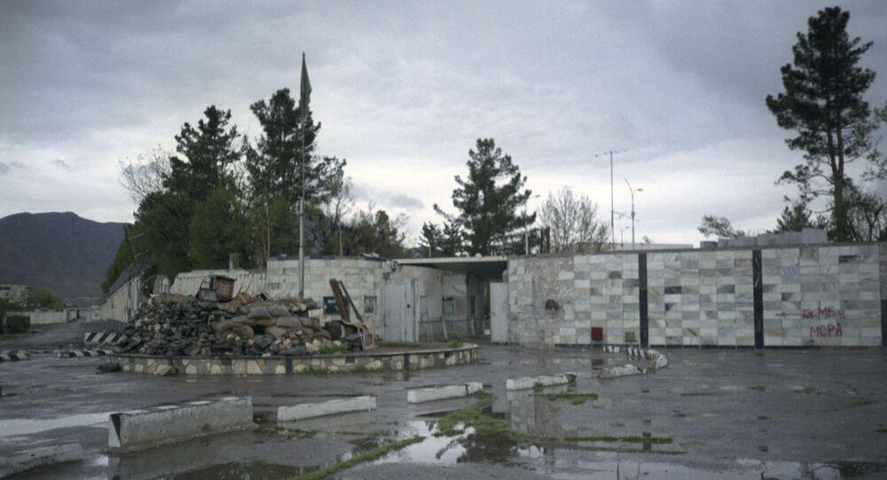 مبنى السفارة الروسية في كابول