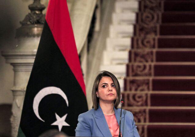 وزيرة الخارجية في حكومة الوحدة الوطنية الليبية، نجلاء المنقوش.