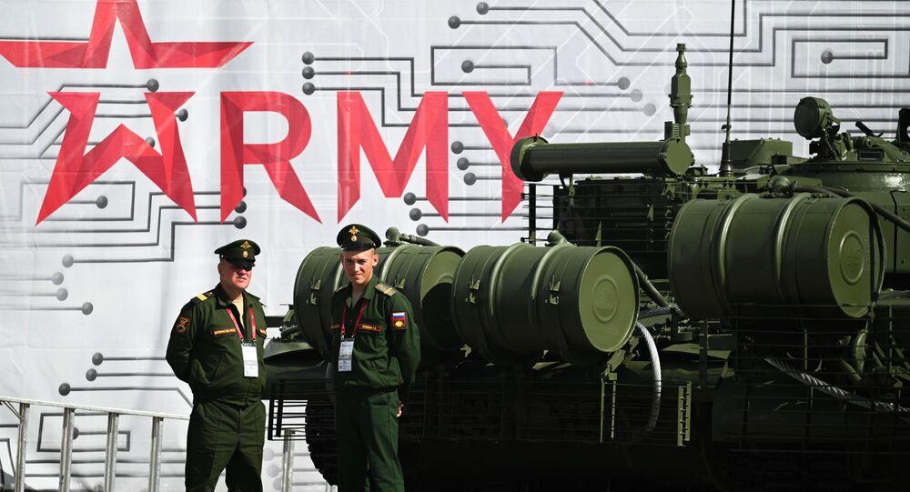 المنتدى العسكري التقني آرميا- 2021 في مقاطعة موسكو