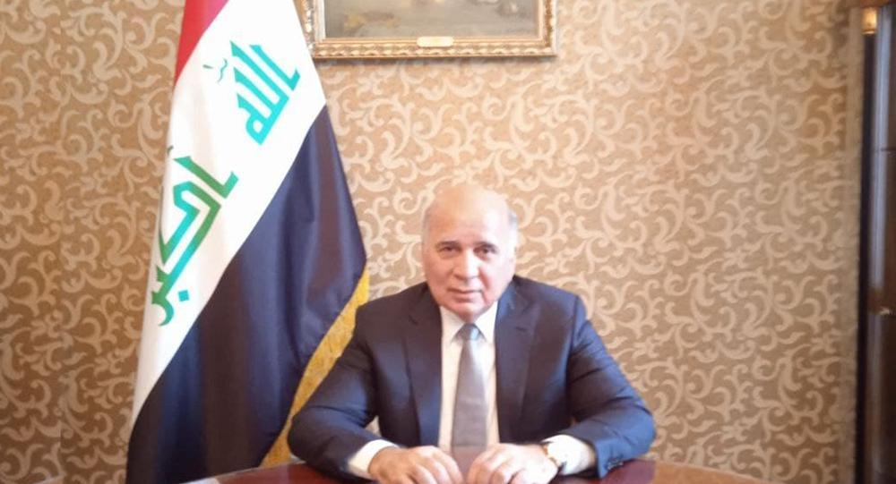 وزير الخارجية العراقية فؤاد حسين