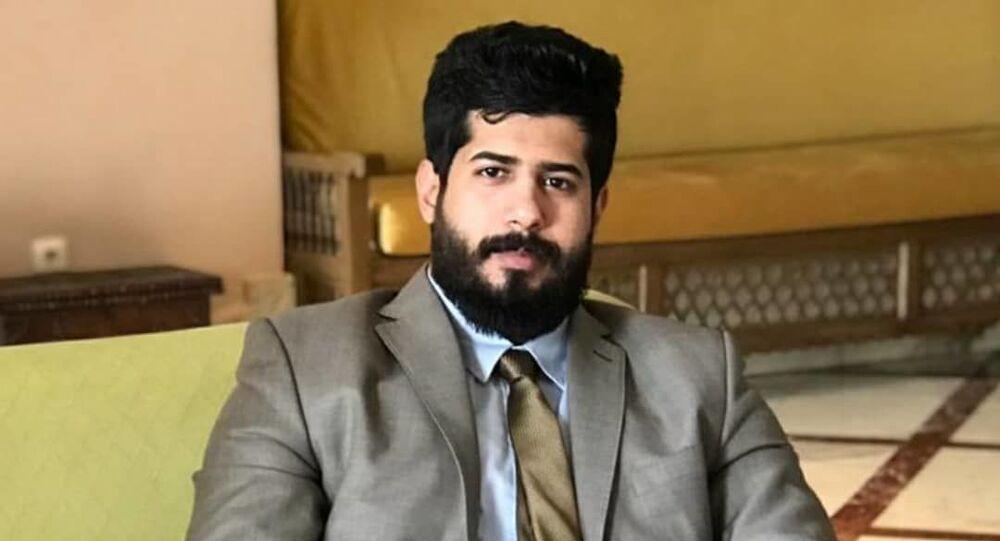الوزير المفوض في السلك الدبلوماسي اليمني لدى سوريا، رضوان الحيمي