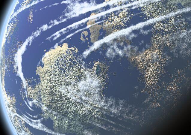 صورة لكوكب الأرض من الفضاء