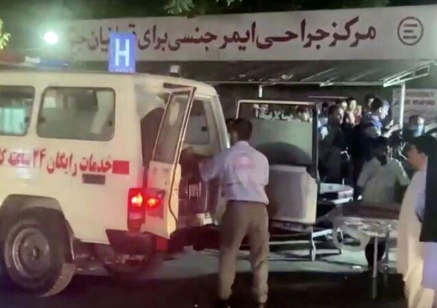 عمليات انفجار ارهابية في مطار كابول، أفغانستان 26 أغسطس 2021