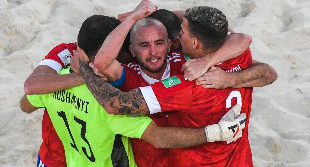 منتخب روسيا في كأس العالم للكرة الشاطئية