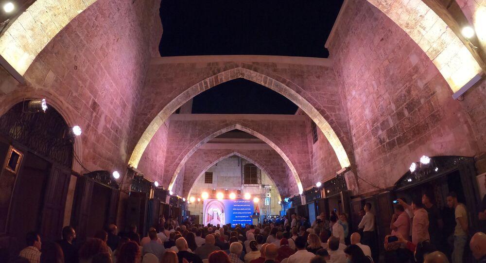 خان الحرير في حلب، سوريا 30 أغسطس 2021
