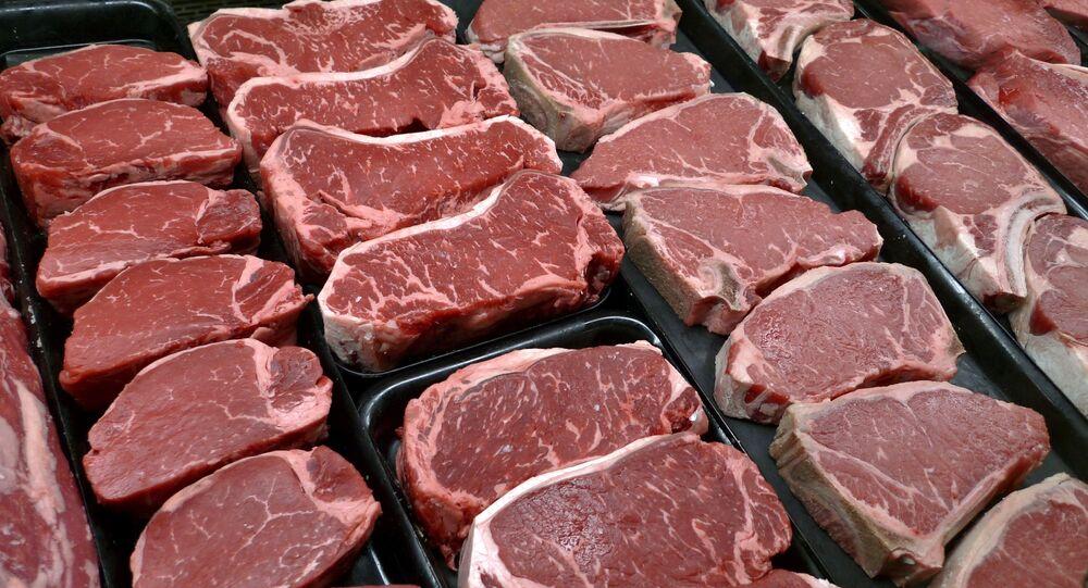 شرائح لحم بقري