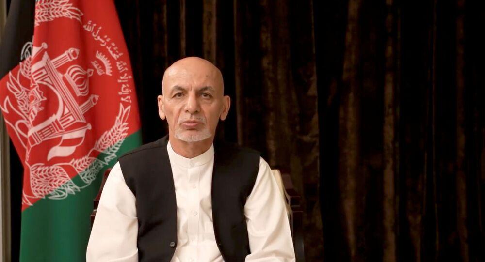 الرئيس الأفغاني السابق أشرف غني