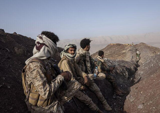القوات اليمنية، مأرب، اليمن 2021