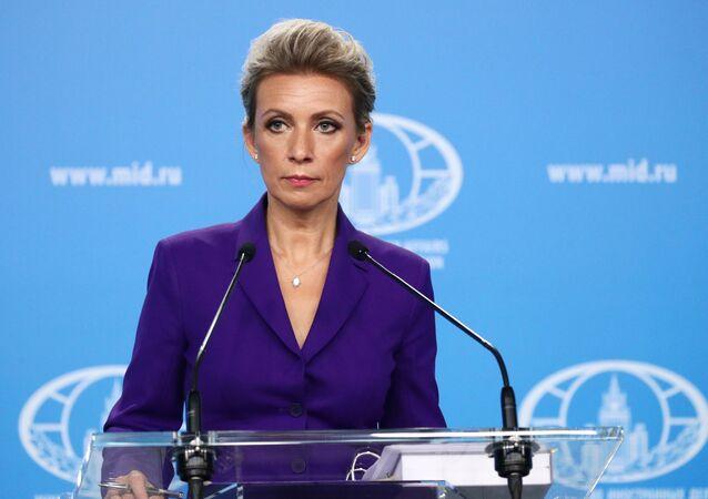 المتحدثة الرسمية باسم وزارة الخارجية الروسية، ماريا زاخاروفا