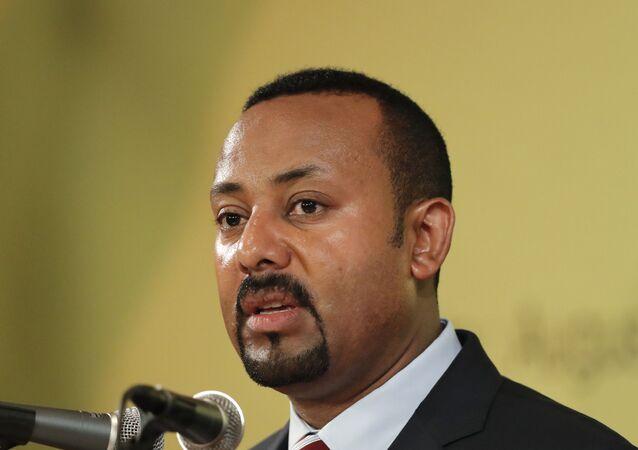 رئيس الوزراء الإثيوبي، آبي أحمد