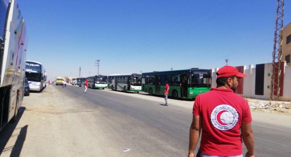 مسلحو (درعا البلد) يطلبون نقلهم إلى تركيا