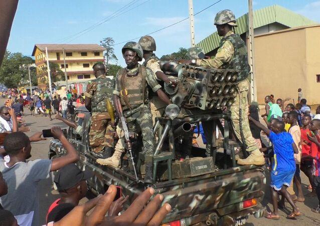 الانقلاب العسكري في العاصمة كوناكري، غينيا 5 سبتمبر 2021
