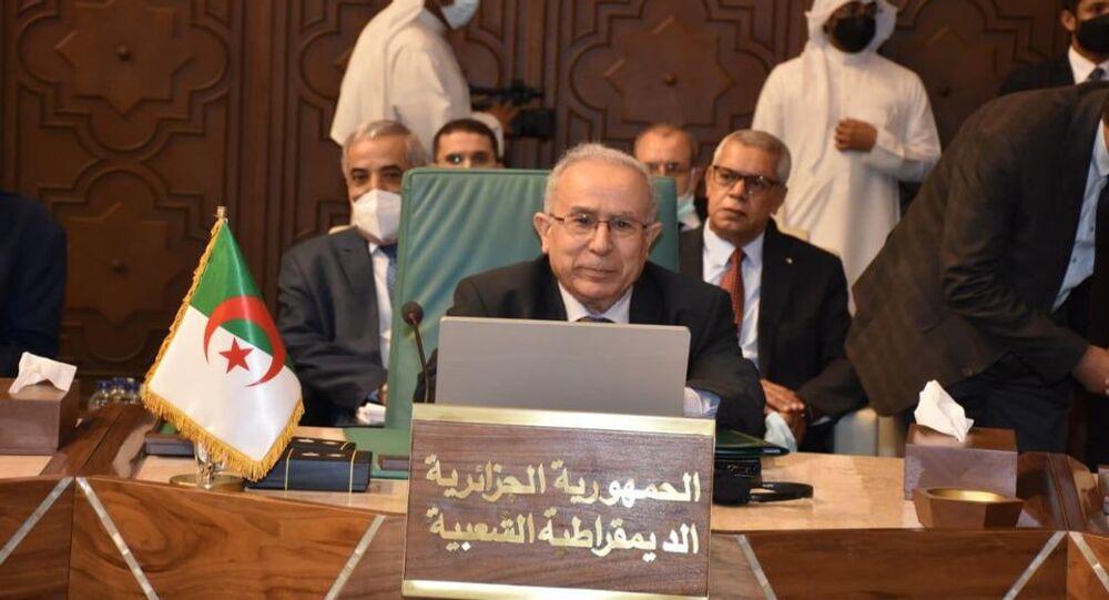 وزير خارجية الجزائر رمطان لعمامرة