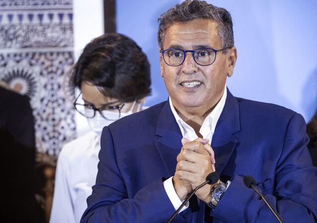 رئيس الحكومة المكلف في المغرب عزيز أخنوش