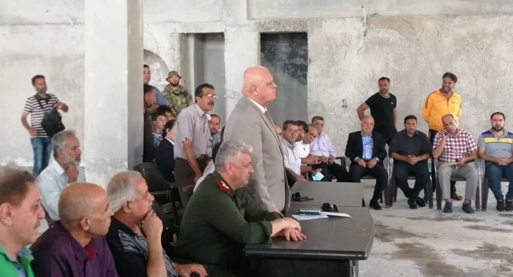 محافظ درعا لـسبوتنيك: خطط مستعجلة لترميم المدارس والبنى الخدمية في درعا البلد