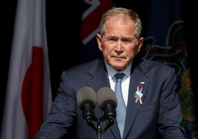 الرئيس الأمريكي الأسبق، جورج بوش