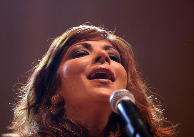 الفنانة السورية، أصالة نصري