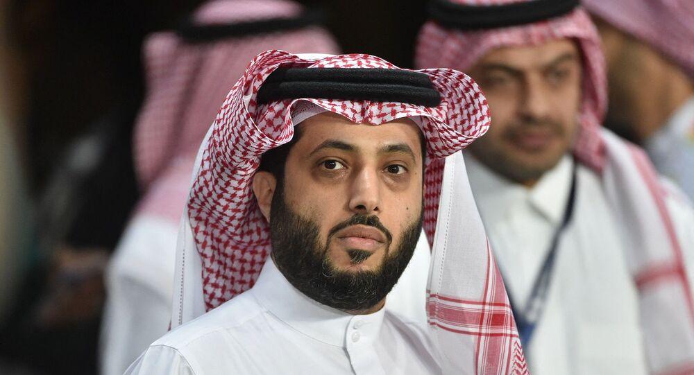 رئيس الهيئة العامة للترفيه في السعودية، المستشار تركي آل الشيخ