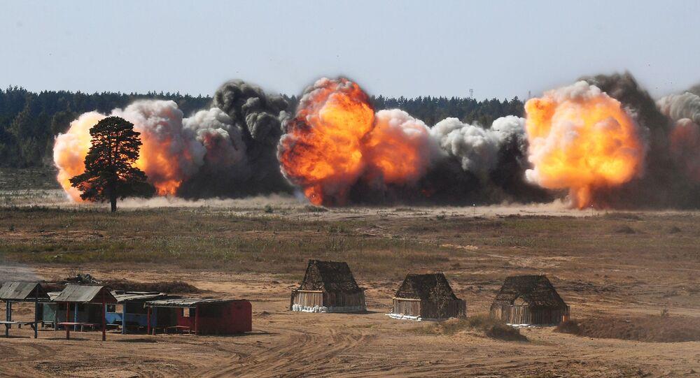مناورات الغرب 2021 العسكرية المشتركة بين روسيا وبيلاروسيا، 12 سبتمبر 2021