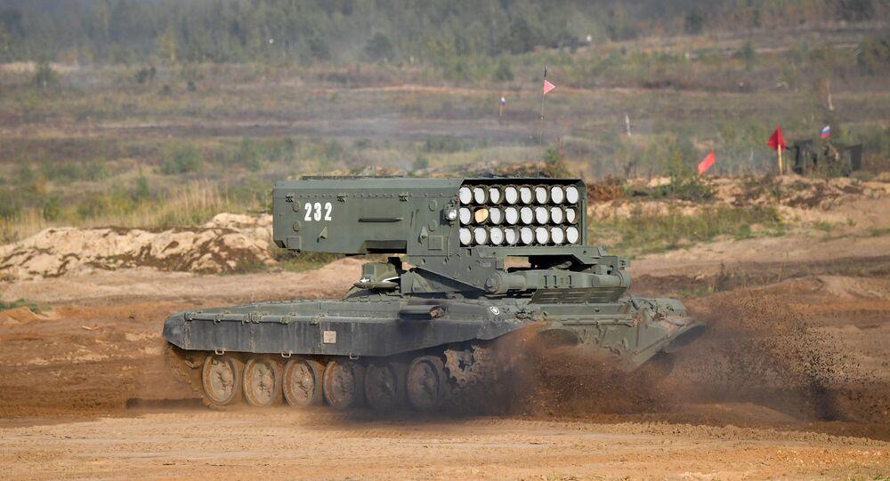 مناورات الغرب 2021 المشتركة بين روسيا و بيلاروسيا - منظومة توس -1 (سولنتسيبيوك)