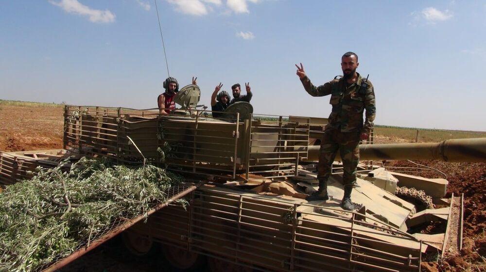 الجيش السوري يواصل انتشاره غرب درعا ويستعد لدخول مزيريب وتلشهاب، سوريا 16 سبتمبر 2021