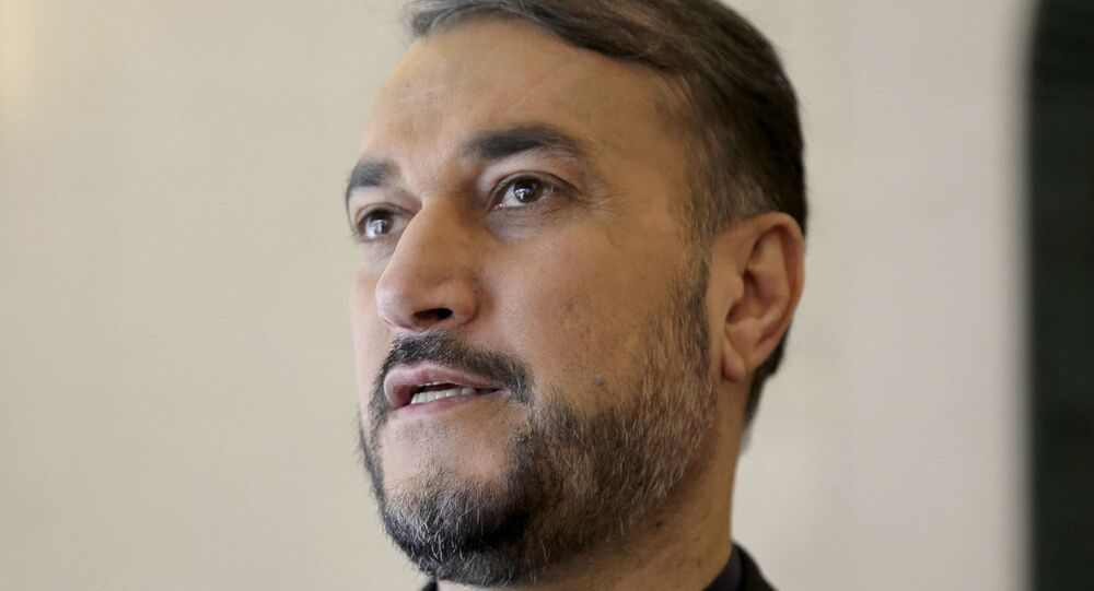 وزير الخارجية الإيراني حسين أمير عبد اللهيان
