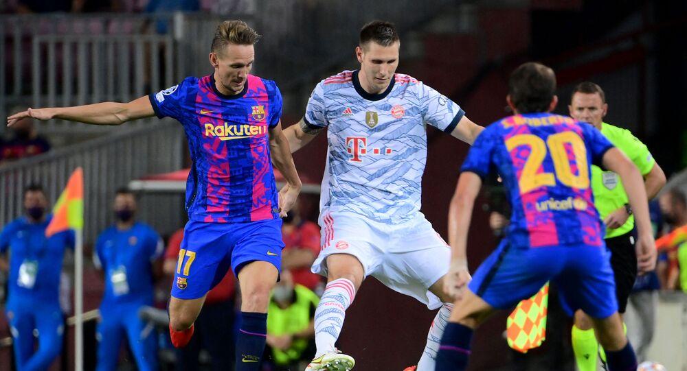 برشلونة وبايرن ميونيخ في دوري أبطال أوروبا
