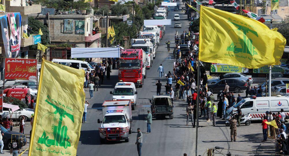 وصول صهاريج المازوت الإيراني إلى لبنان، 16 سبتمبر 2021