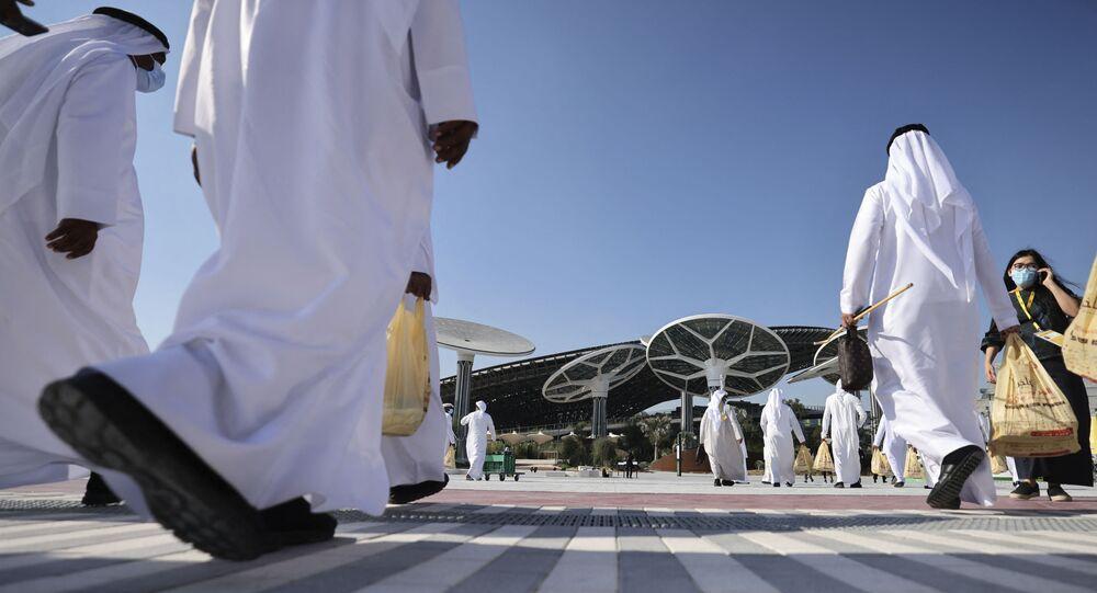 معرض إكسبو دبي 2020، الإمارات العربية المتحدة 16 يناير 2021