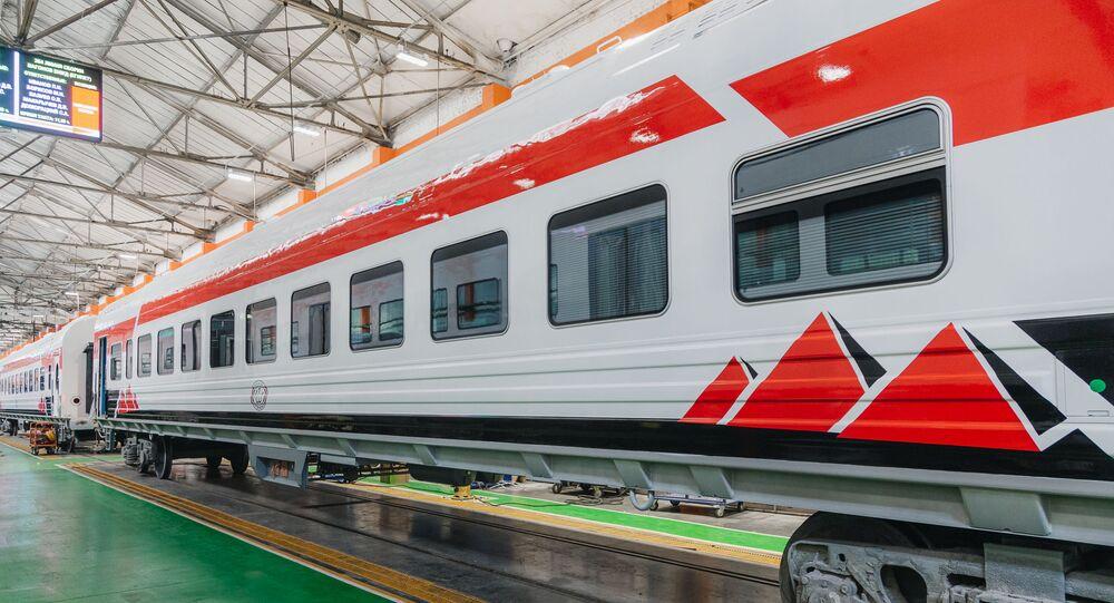 عربات قطار جديدة من روسيا للرئيس المصري