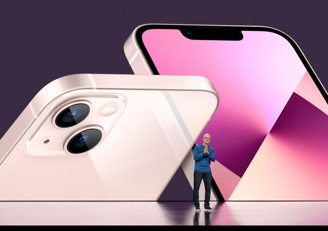 الإعلان عن هاتف آيفون 13، الولايات المتحدة الأمريكية، 14 سبتمبر/ أيلول 2021