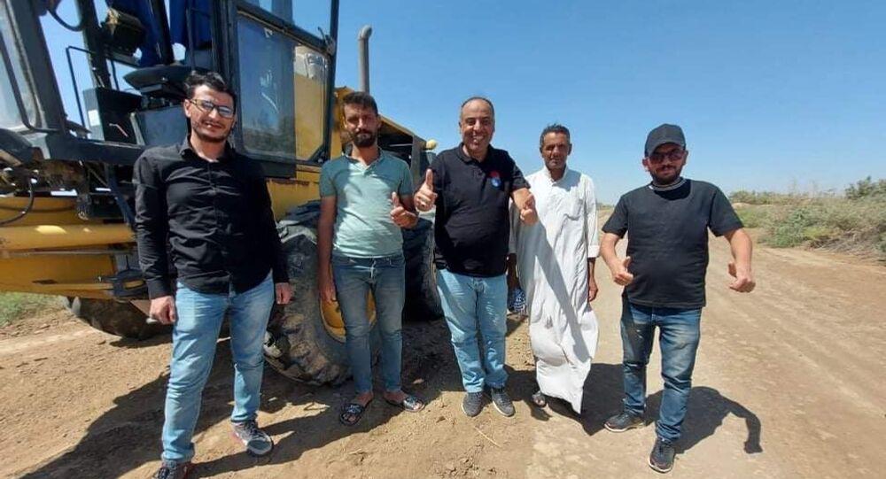 موقع أثري في ذي قار، جنوب العراق 17 سبتمبر 2021
