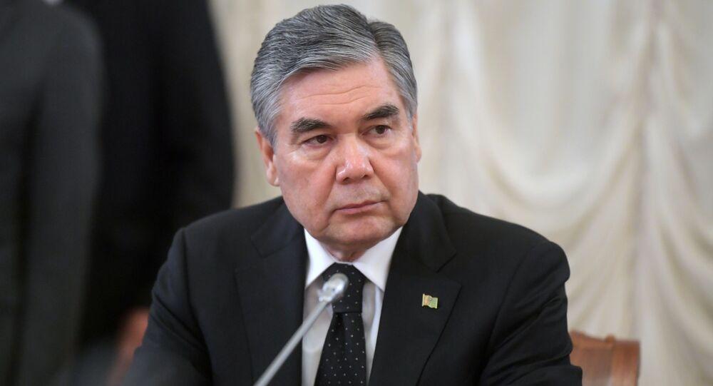 الرئيس تركمانستان قربان قولي بردي محمدوف