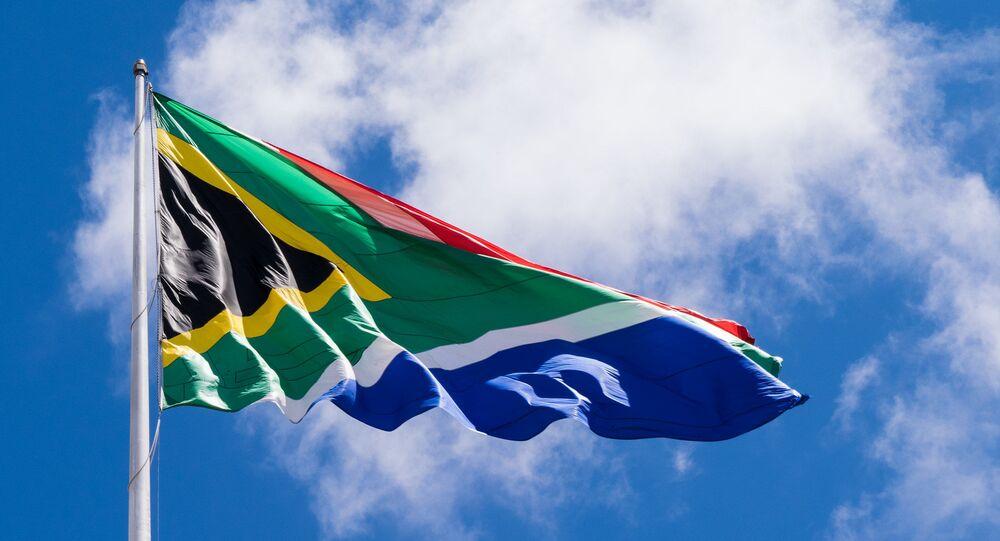 علم جنوب أفريقيا