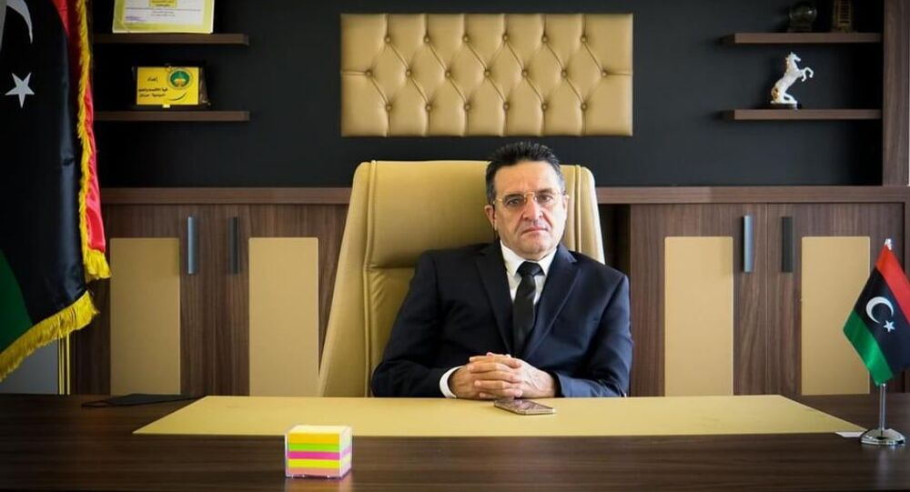 وزير الاقتصاد الليبي سلامة الغويل