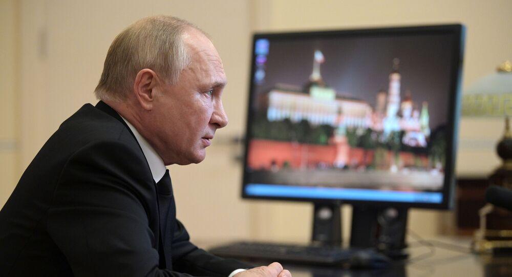 الرئيس فلاديمير بوتين، 20 سبتمبر 2021