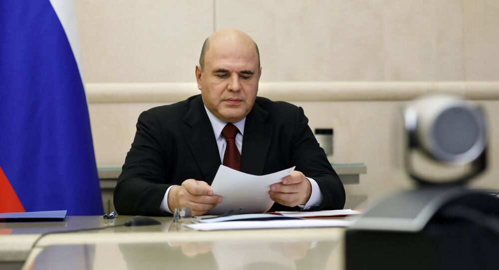 رئيس الحكومة الروسية ميخائيل ميشوستين، روسيا 20 سبتمبر 2021