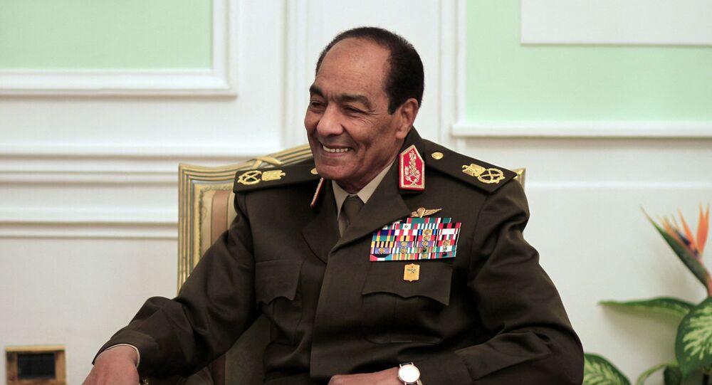 وزير الدفاع المصري السابق محمد حسين طنطاوي